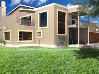 EYE OF AFRICA ESTATE by Wentworth Architects Modern