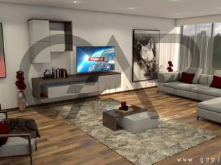 Design - Sala:   por GapIdea,Minimalista