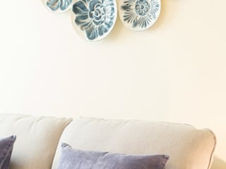 Filipa Cunha Interiores Living roomAccessories & decoration Blue