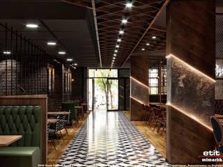 Reyna Restaurant Etit Mimarlık Tasarım & Uygulama Endüstriyel