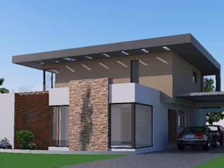 ANGOLA HOUSE by Wentworth Architects Modern