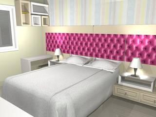 JS home móveis sob medida. DormitoriosCamas y cabeceras Tablero DM Multicolor