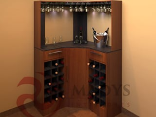 MADYS INTERIORES Wine cellar Multicolored