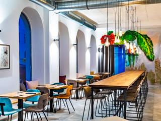 """Planung und Umbau Restaurant """"die goldene Banane"""" in Graz Moderne Gastronomie von INARCH Sabine Schimanofsky Modern"""