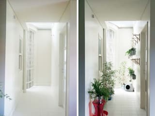 jardim suspenso / estufa interior JAG arquitetura paisagista