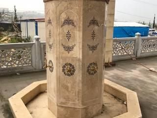 Şadırvan Modelleri Taşcenter Acarlıoğlu Doğal Taş Dekorasyon SanatSanat Eserleri Mermer Bej
