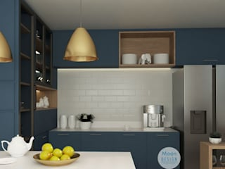 Built-in kitchens by Moon Design, Modern