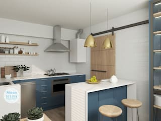 Kitchen by Moon Design, Modern