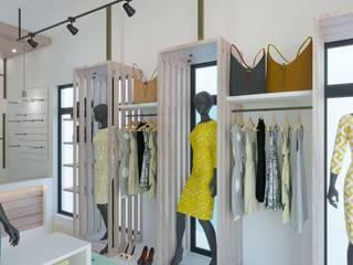 BOUTIQUE Oficinas y comercios de estilo moderno de DUALEC 'Diseño y Construccion' Moderno