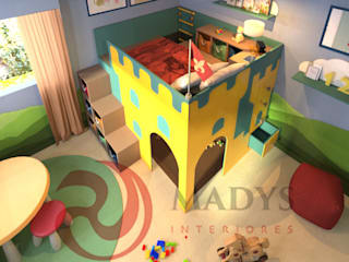 MADYS INTERIORES Modern nursery/kids room