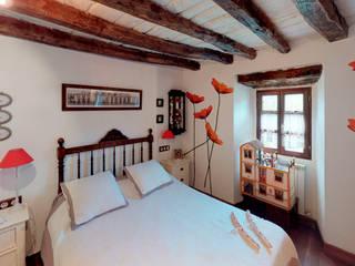 Caserio Menagarai Dormitorios de estilo rústico de TRIPLE-D Rústico