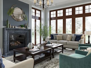 Living room by MARION STUDIO, Classic