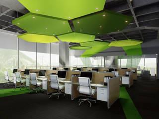 Oficinas Torre Aurum de Ocalta Moderno