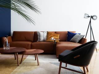 Salones de estilo  de Sentido Arquitectura, Minimalista