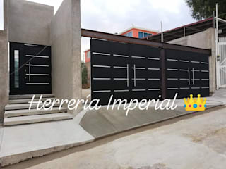 Herreria y Aluminio Imperial Garage Doors Iron/Steel Black