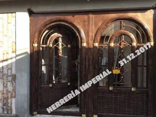 Herreria y Aluminio Imperial Garage Doors Iron/Steel Amber/Gold