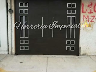 Herreria y Aluminio Imperial Garage Doors Iron/Steel Brown