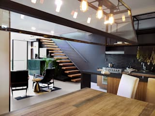 Salas de jantar  por Sentido Arquitectura , Minimalista