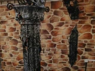Arco decorativo forjado de Forja para Casa Mediterráneo