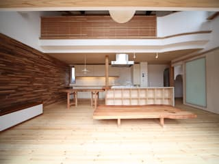 株式会社高野設計工房 Scandinavian style living room