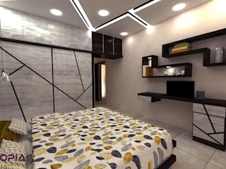 Residential Interior Designer in Bangalore Modern style bedroom by Utopia Interiors & Architect Modern