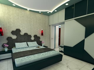 Utopia Interiors & Architect Modern Bedroom