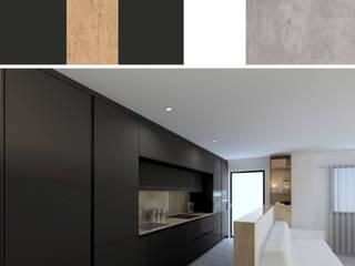 の RR Estudio Interiorismo en Madrid モダン