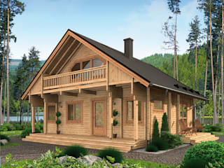 THULE Blockhaus GmbH - Ihr Fertigbausatz für ein Holzhaus Rustik