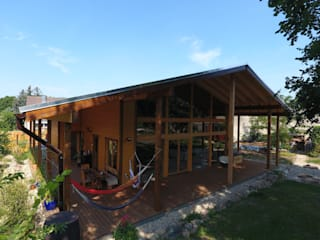 by THULE Blockhaus GmbH - Ihr Fertigbausatz für ein Holzhaus Scandinavian