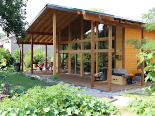 de THULE Blockhaus GmbH - Ihr Fertigbausatz für ein Holzhaus Escandinavo