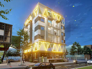 Commercial Complex / Apartment Building by M - Designs & Projects