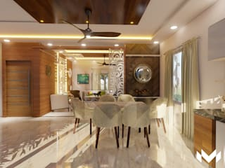 Apartment Interiors @Hyderabad by M - Designs & Projects