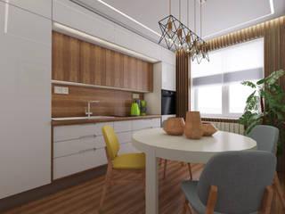 Minimalist kitchen by STUDIO DESIGN КРАСНЫЙ НОСОРОГ Minimalist