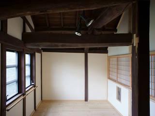 kgt古民家 改修工事 和風の 寝室 の 西本建築事務所 一級建築士事務所 和風