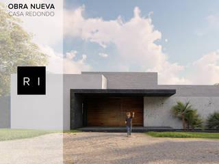 Ri Arquitectos Minimalistische Häuser Stahlbeton Grau