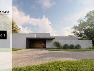 Minimalist houses by Ri Arquitectos Minimalist