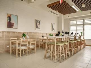 SING萬寶隆空間設計 Ruang Makan Gaya Skandinavia