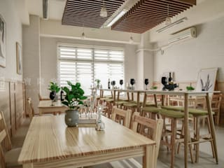 Comedores de estilo  por SING萬寶隆空間設計, Escandinavo