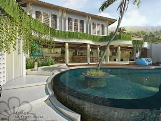 The Beach House Resort & Spa Putri Bali Design (PBD) Hotel Tropis Kayu White