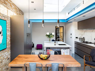 Kitchen Extension - Windsor Road, Kingston Upon Thames, KT2 de APT Renovation Ltd Moderno