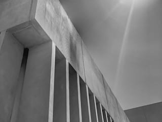 AMPLIACION CD ARRECIFE RÖ | ARQUITECTOS Estadios de estilo minimalista Hormigón Gris