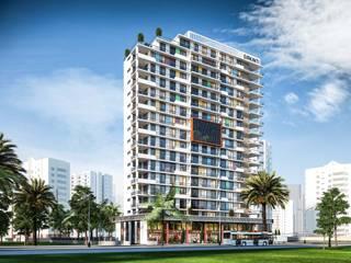 Viva! Çalık Konsept Mimarlık Apartman Rengarenk