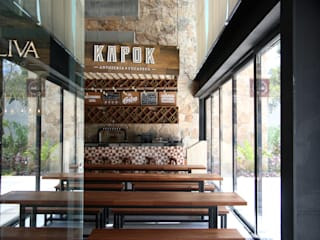 Ápiron Modern dining room Wood Wood effect