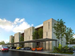 Ápiron Multi-Family house Concrete Beige