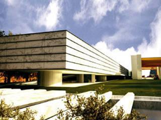 Novum Proyectos Integrales Ruang Studi/Kantor Modern