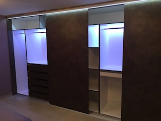 closet de cocinascafeteriasmodernas Moderno Tablero DM