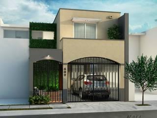 Aya Arquitectos Single family home Concrete Beige