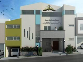 Aya Arquitectos Small houses Concrete White