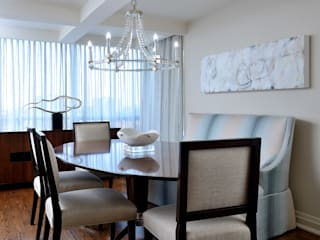 Modern dining room by Collage Designs Modern