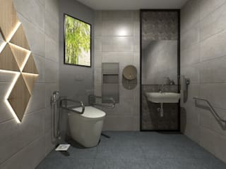 3D VISUAL SERVICE FOR TOILET AT KENANGA INTERNATIONAL, KUALA LUMPUR (TOWER) by eL precio